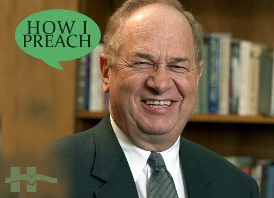Walt Kaiser: How I Preach