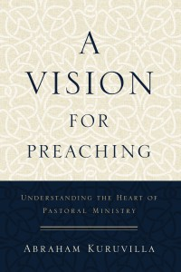 A Vision for Preaching book cover