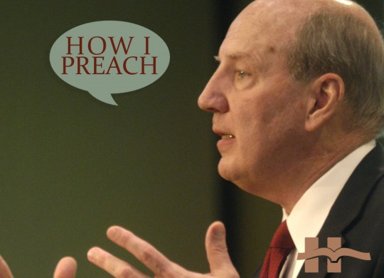Duane Litfin: How I Preach