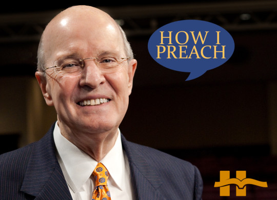 Jerry Vines: How I Preach