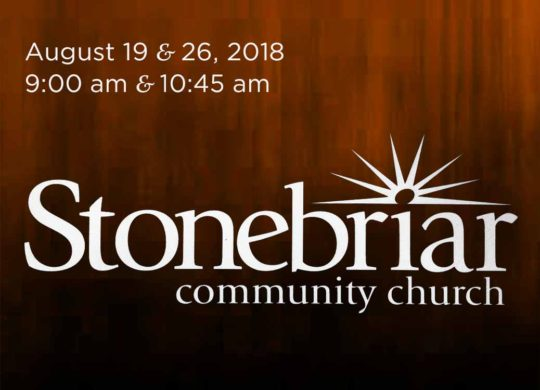 Preaching @ Stonebriar Community Church