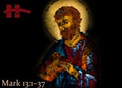 Mark 13:1−37